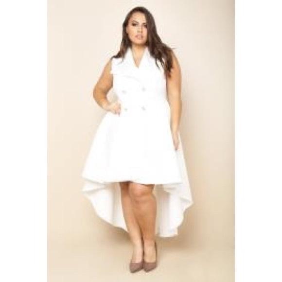 Dresses Plus Size Double Breasted Hilo Dress Poshmark